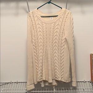 Cabi cream sweater